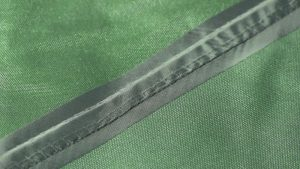 Material with Taped Seams to prevent leaking and tearing